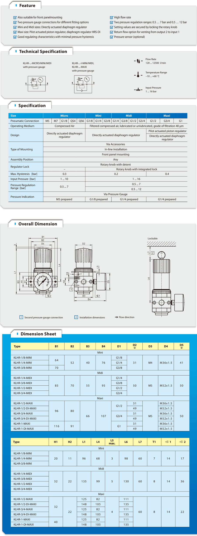 KLHR Series Regulator