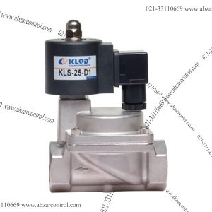 KLS 2/2 Way Stainless Steel Pilot Piston Type Solenoid Valve