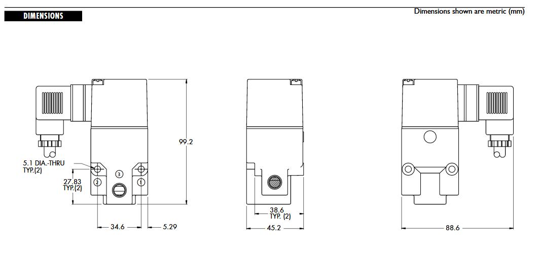 شیر برقی مک 200 mac valves