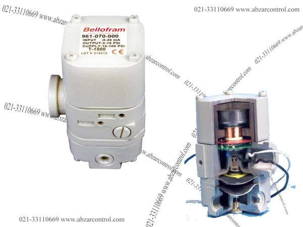 T1000 E/P Transducer marsh bellofram