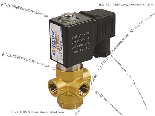 VX31/32/33 3/2 Way Direct Acting Solenoid Valve